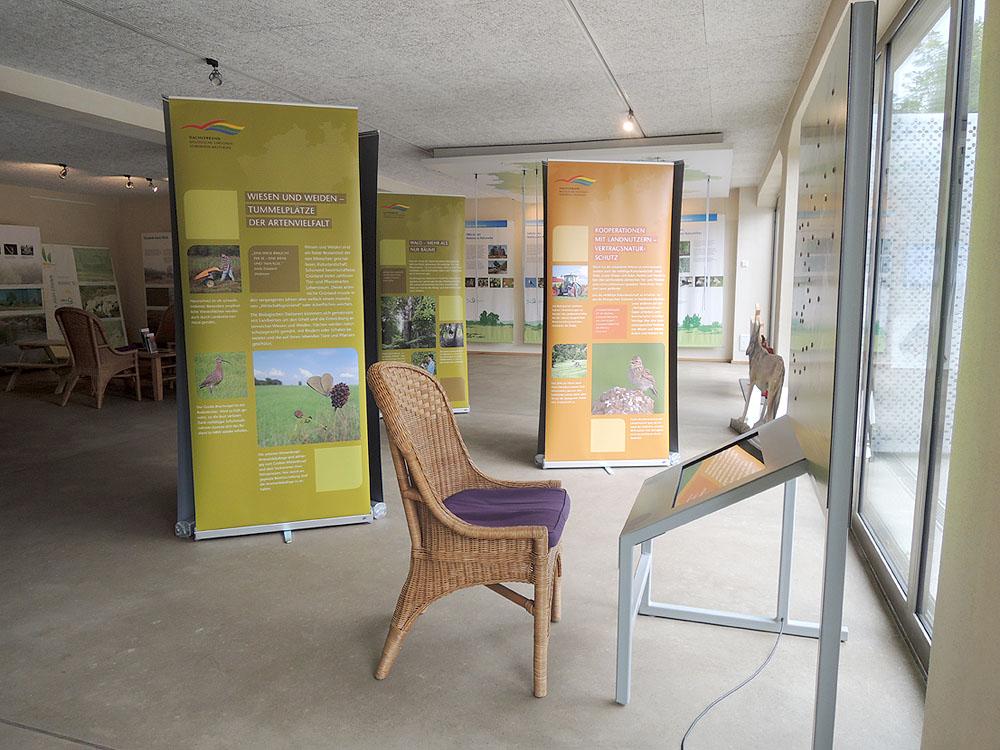 Die Ausstellung im Turmhof, Rösrath